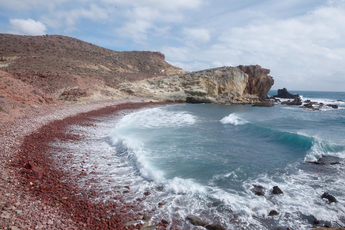 Cala Carbón. Cabo de Gata (Almería)