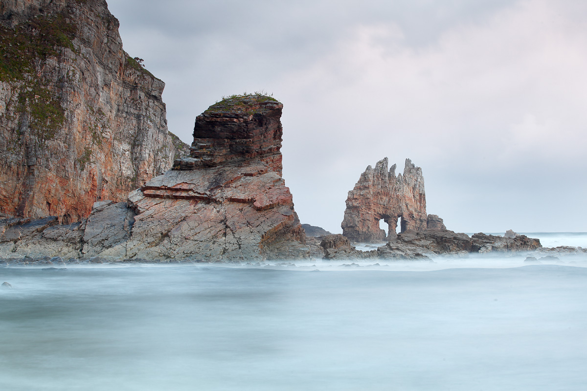 Playa de Portizuelo. Luarca, Asturias